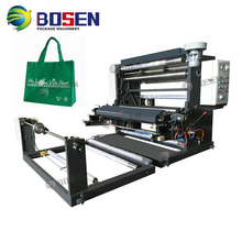 One color flexographic printing machine price for non-woven bags