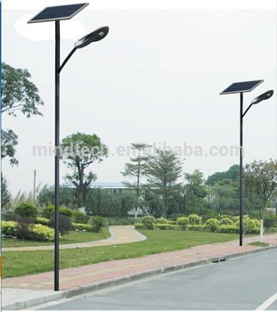 Popular all in one integrated 60W solar street light garden lantern energy systems