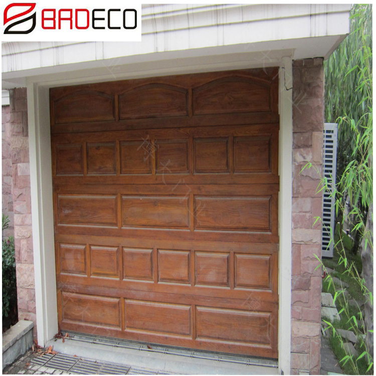 Folding 5 Panel Garage Door Screen System with Plastic Net