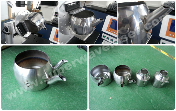 Stainless Steel Injection Mould/Mold Repair Optical Fiber Lazer Welder for Mould