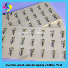 Food sticker made especially for you labels label for yogurt
