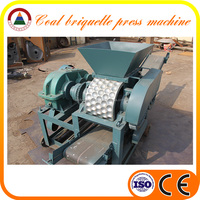 Mining 1.5t/h capacity briquette making machine charcoal / coal / coke powder briquette making machine with good service