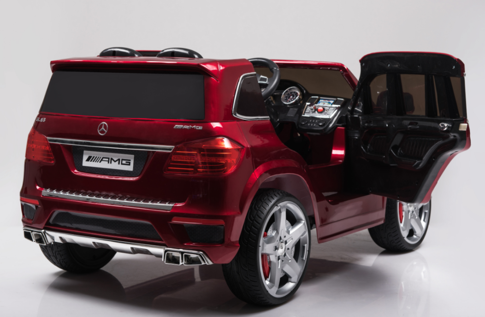 Cheap kids electric cars licensed mercedes benz gl63 amg for Mercedes benz kids car
