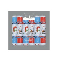 "Snowman and Santa 12x11"" Kids Christmas Cracker"