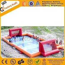 Hot inflatable soap football/soccer field A6056