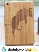 NEW Real Natural Wood Hard Back Case Cover for iPad Mini