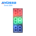 12inch led 4 digits led gas price sign, gas station led price sign