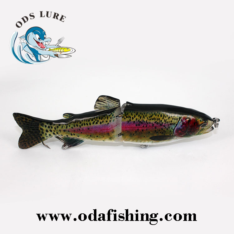 "ODS Making Supplies 7"" Trout Glider Hard Lure Bodies Blanks Fishing Lure"