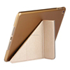 Leather Flip Ultra Slim Folding Stand Case Cover For iPad 2/ 3/ 4 Tablet with TPU Back Cover