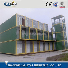 SH luxury and low living underground container house with wheels made in china