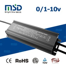 Indoor Outdoor Street Light 0-10V Driver 80W 900ma 1400ma 2100ma Waterproof LED Power Supply with CE RoHS SAA TUV ETL