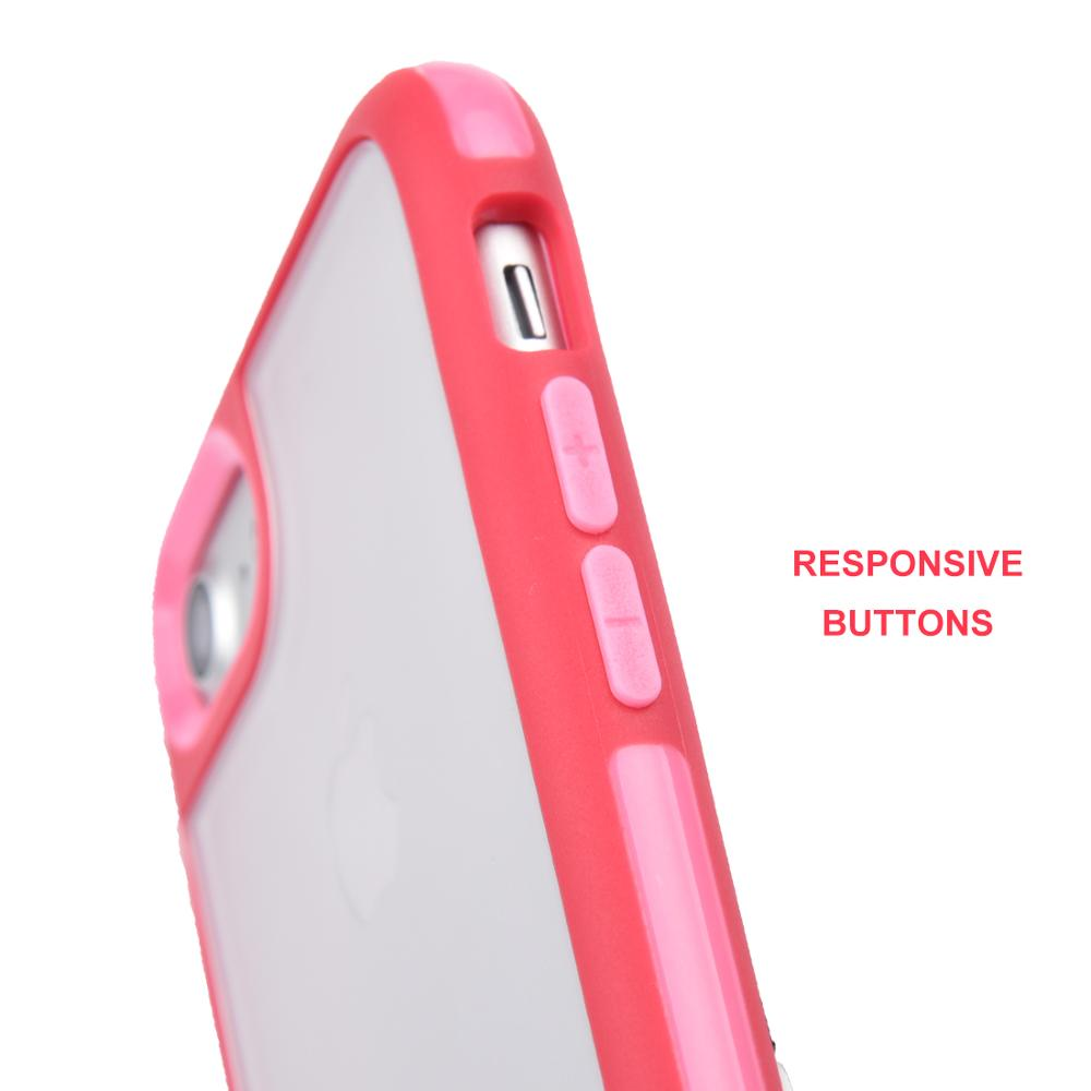 Dual Layer For iPhone 7 Cover,Plastic Back Cover For iPhone 7 ,Soft TPU Bumper For iPhone 7 Case