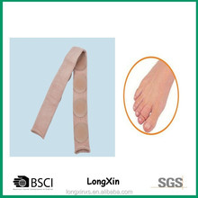 LX-0818 high quality toe protector 2 dots /gel and fabric toe protector