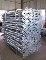 Krinner ground screws with Hot Galvanized for solar mounting system