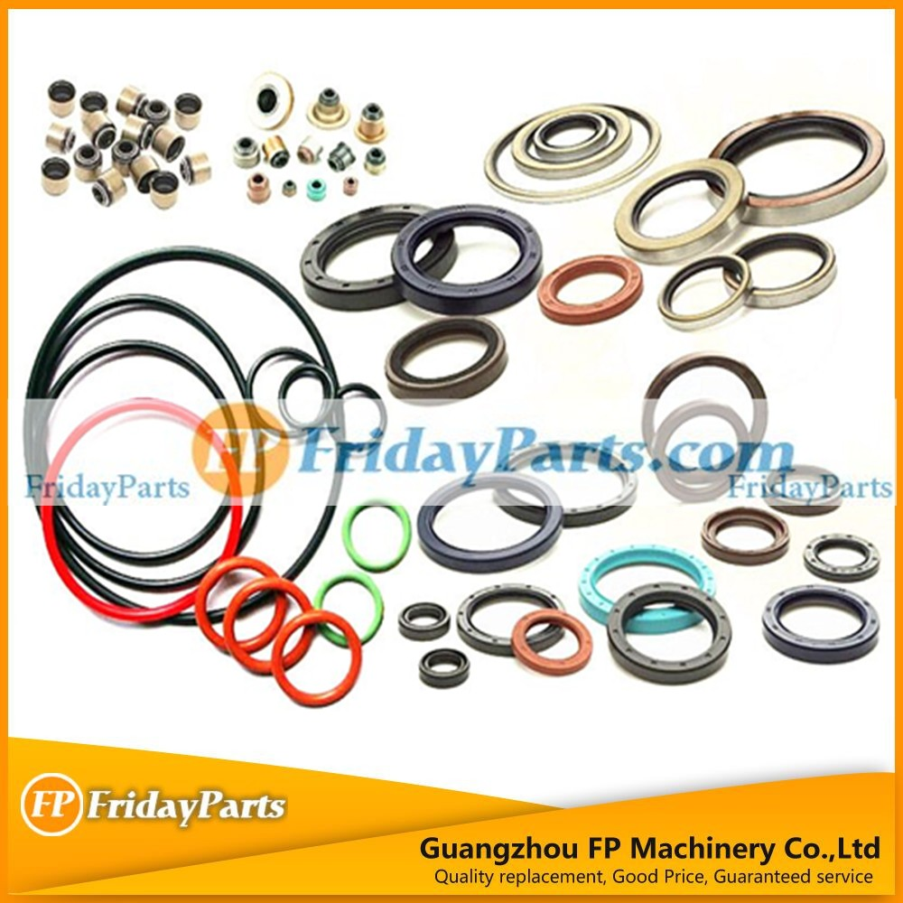 Exvacator spare parts excavator oil seal for different excavator