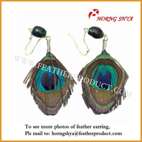 Beautiful Designer Feather Earrings