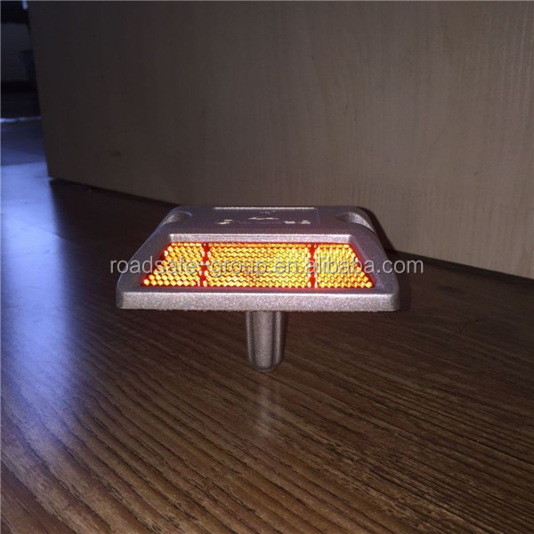 Highway Road Reflector Cat Eyes Reflective Aluminum Sand Filled Road Studs