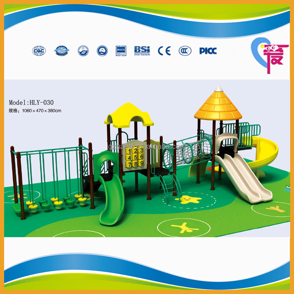 HLT-030 New Park Amusement Outdoor Play Areas For Toddlers