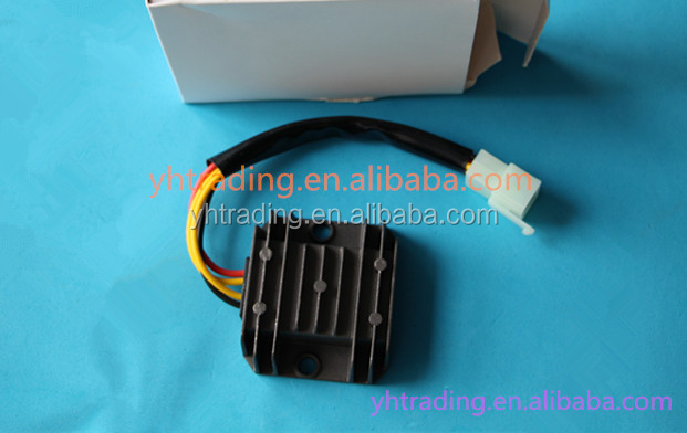 QJ 4 line motorcycle silicon voltage regulator rectifier
