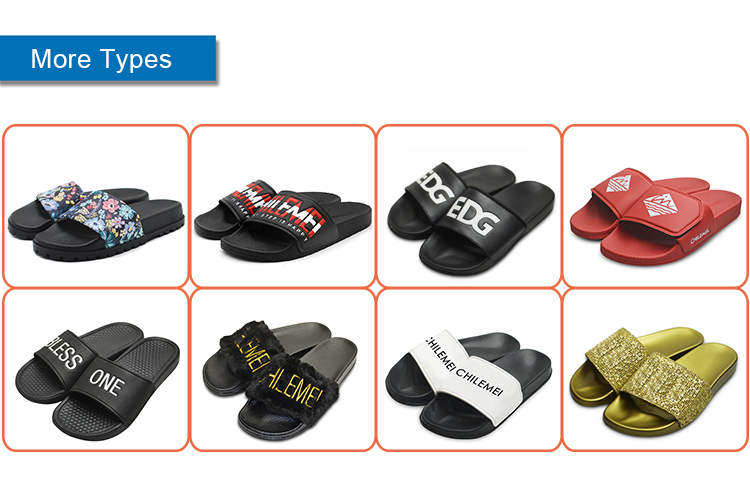 Summer Fashion PU new beach sandal shoes, Sandals Custom Slides wholesale