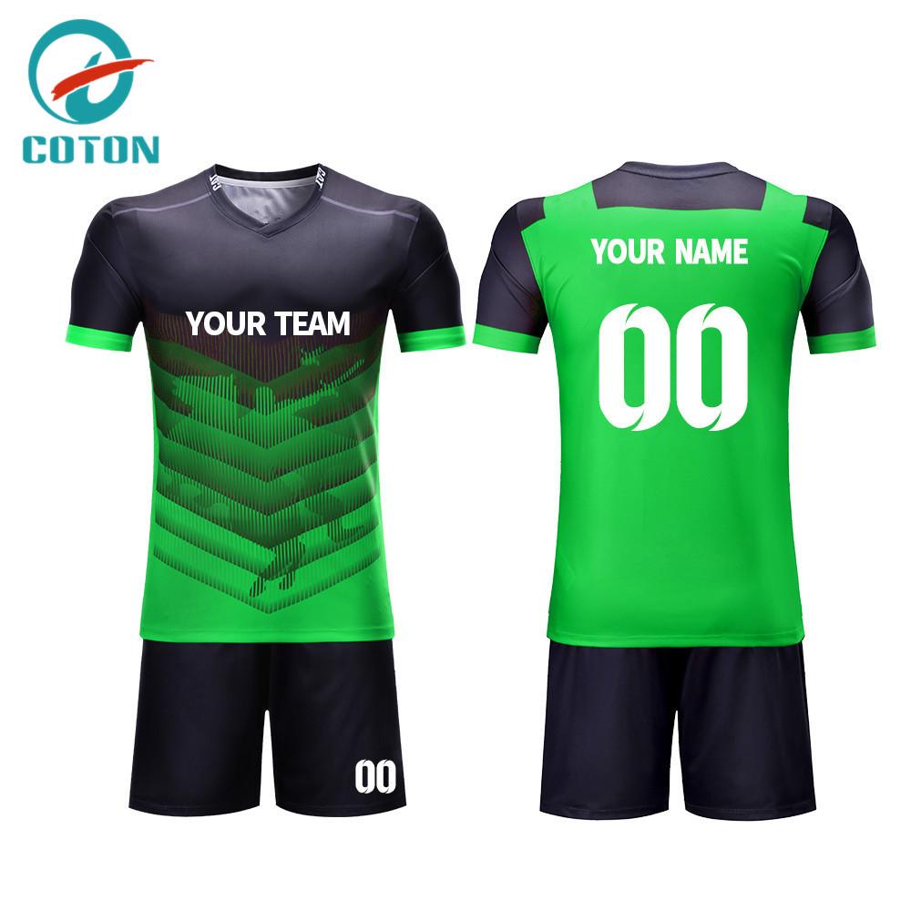 955934124a7 2018 Bulk Custom Youth Wholesale Football Jerseys Soccer Jersey ...