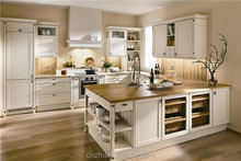 Modern matt PVC laminated on mdf kitchen cabinets