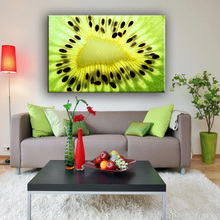 China manufacture multicolor famous fruits canvas wall art decor painting