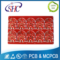 Rohs and UL certificates China supplier 6 layer fr4 pcb board