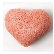 Heart Shaped Konjac Sponge, Ideal For Sensitive Skin Konjac Sponge Organic, Deep Pore Cleansing Konjac