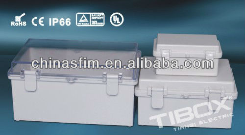 UL/TIBOX /high quality IP66 ABS ENCLOSURE /metal plastic box enclosure electronic