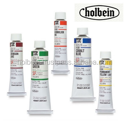 Various colors of Holbein oil natural orange food coloring for sale