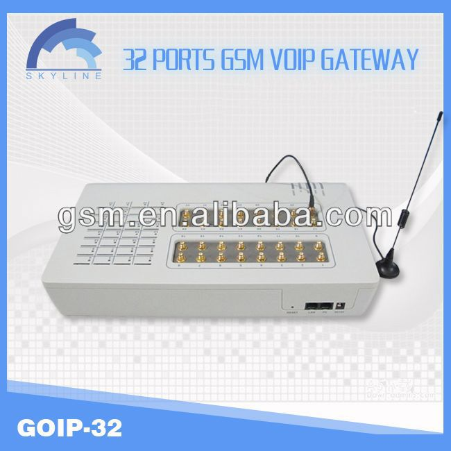 32 ports GSM gateway/imei change /sip proxy server