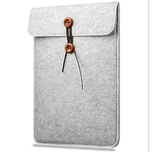 Wool felt Cover Case 11 12 13 15 Inch Protective Laptop Bag/Sleeve for Apple Macbook Air Pro Retina Laptop Case Cover