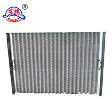 Anping shengjia waved vibrating screen mesh/waved shale shaker screen/oil field screen filter