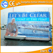 High quality advertising billboard, water floating billboard, used billboard signs sale