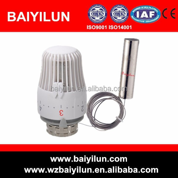 hvac system automatic control capillary thermostat