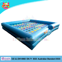 Factory Price giant twister game/inflatable twister