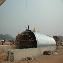 hot galvanized corrugated metal culvert pipe with deep corrugation