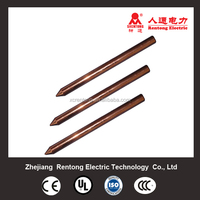 Good quality Copper bonded earth rod/ground rods