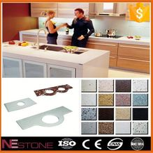 Customize solid surface prefab laminate kitchen countertops