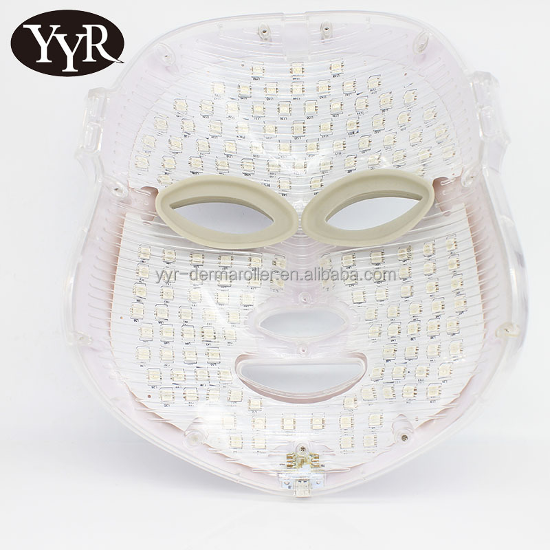 YYR LED Photon Therapy 7 Color Light Treatment Skin Care Facial Mask