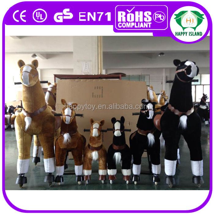 Hot sale!!! HI CE S size walking mechanical horse toys for <strong>kids</strong>