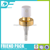 Liquid Mist Pump Sprayer / Crimp Pump Plastic, 20mm perfume crimp pump mist sprayer