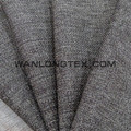 Newest Polyester linen look fabric for sofa cover curtain fabric wholesales