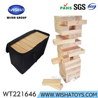Customized Classic Wooden Giant Tumbling Tower