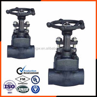 Butt Welded Gate Valve In BSPT / NPT Thread