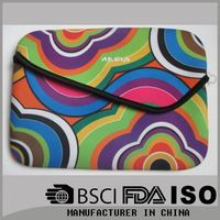 Professional manufacturing 10inch laptop sleeve