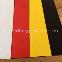 Non-toxic PP Sheet Abrasion Resistant Polypropylene Plate Reinforced Transparent Solid Color Board