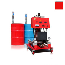 High efficient pu foam spray machine for fire proofing with hose