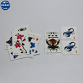 Promotional colorful hand temporary tattoo paper